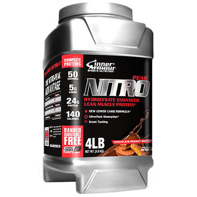 Inner Armour Black - Nitro Peak Whey Protein Chocolate Peanut Butter - 4 lbs.