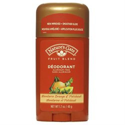 Nature's Gate Organics Deodorant Mandarin Orange Patchouli - 1.7 oz