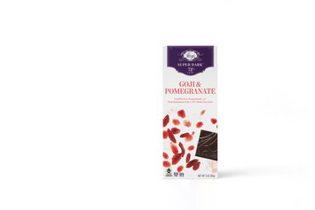 Vosges Super Dark Goji & Pomegranate Chocolate