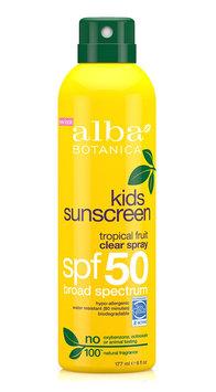 Alba Botanica Kids Sunscreen Clear Spray