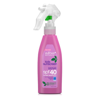 Alba Botanica Kids Sunscreen Spray Lotion