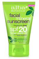 Alba Botanica Facial Mineral Sunscreen Fragrance Free Lotion