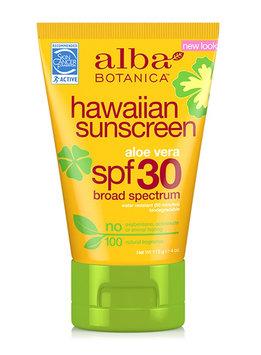 Alba Botanica Hawaiian Sunscreen Aloe Vera Lotion