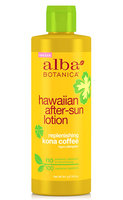 Alba Botanica Hawaiian After-sun Lotion Replenishing Kona Coffee