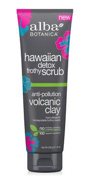 Alba Botanica Hawaiian Detox Frothy Scrub Anti-pollution Volcanic Clay