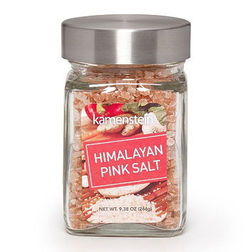 Kamenstein Pink Himalayan Salt Seasoning Jar