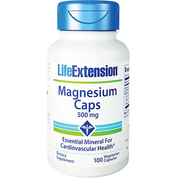 Life Extension - Magnesium Caps 500 mg. - 100 Vegetarian Capsules