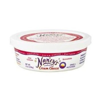 Nancy's Cream Cheese,cultured, 8 Oz (Pack of 6)