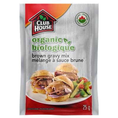 Club House Organic Brown Gravy Mix