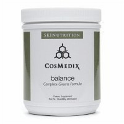 CosMedix Balance Complete Greens Formula Powder, 10.05 oz
