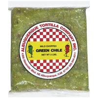 Albuquerque Tortilla Co. Inc. Mild Chopped Green Chile Peppers, 3 lb