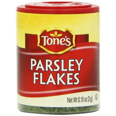 Tone's Mini's Parsley Flakes, 0.10 Ounce (Pack of 6)