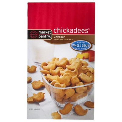 Market Pantry Chickadee Whole Grain Cheddar Crackers - 6.6 oz.