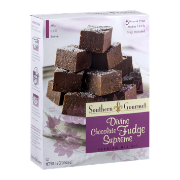 Southern Gourmet Premium Fudge Mix Kit Awesome Cookies and Cream