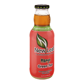 New Leaf Mango Green Tea