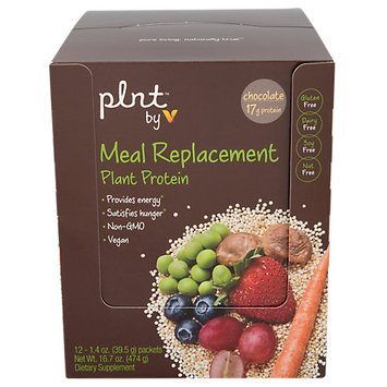 Plnt Protein Meal Replacement Packets Chocolate