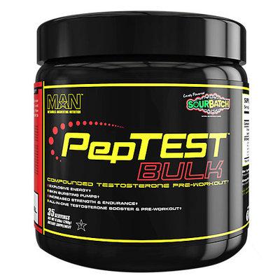M.a.n. Sports Products MAN Sports Peptest Bulk Pre-Workout Supplement, Sour Batch Kids - 35 Servings