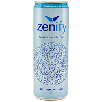 Zenify Zero Sugar Natural Stress Relief Drink