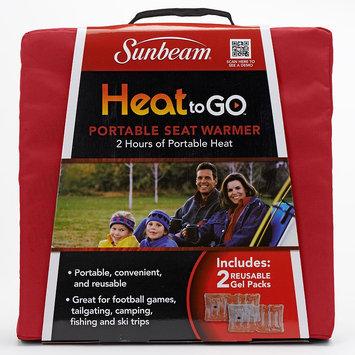 Sunbeam Heat to Go Portable Seat Warmer (Red)