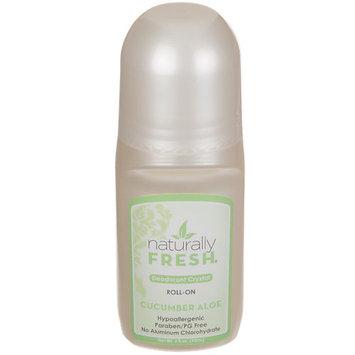 Naturally Fresh - Deodorant Crystal Roll-On Fragrance Free - 3 oz.