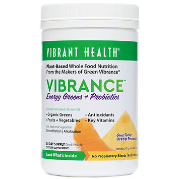 Vibrant Health Vibrance Essential Daily Green Food Orange Pineapple 9.21 oz