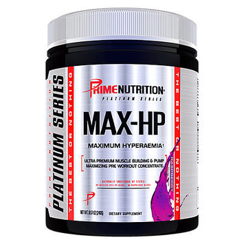 Prime Nutrition MAX-HP Raspberry - 30 Servings
