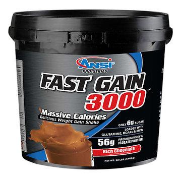 Advanced Nutrient Science Fast Gain 3000 Rich Chocolate