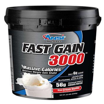 Advanced Nutrient Science Fast Gain 3000 Ice Cream Vanilla