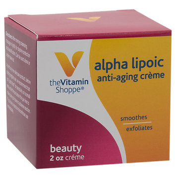 The Vitamin Shoppe Alpha Lipoic Beauty Creme
