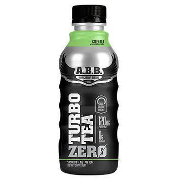 ABB Records ABB Turbo Tea Zero Green Tea - 12 - 18 fl oz (532 ml) Bottles