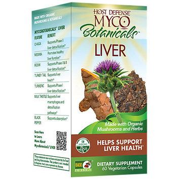 Host Defense MycoBotanicals Liver, 60 Count