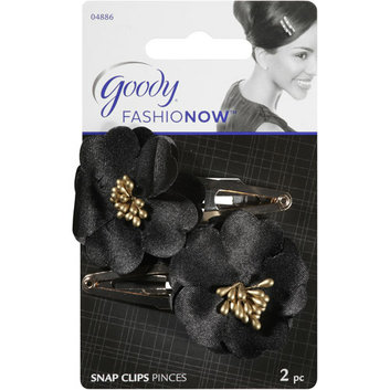 Goody FashioNow Fabric Flower Snap Clips