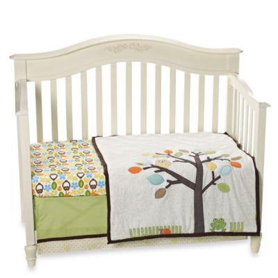 Notneutral not Neutral® Arbor Friends 4-Piece Crib Bedding