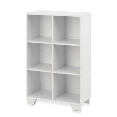Real Simple 6-Cube Storage Unit in White