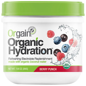 Orgain, Inc. Orgain - Organic Hydration Refreshing Electrolyte Replenishment Berry Punch - 7.05 oz.