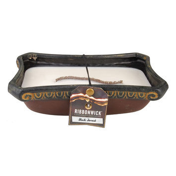 WoodWick Ribbonwick Black Forest Rectangle Candle