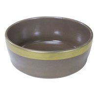 Worldwise Loved Ones Ceramic Small Tonal Dog Bowl - Brown