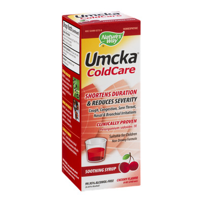 Nature's Way Umcka Cold Care Syrup Cherry
