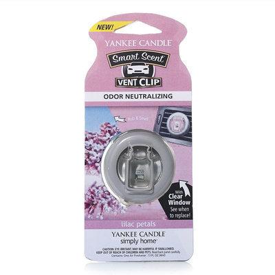 Yankee Candle simply home Lilac Petals Car Vent Clip (Purple)
