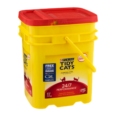 Purina Tidy Cats 24/7 Performance Clumping Litter for Multiple Cats