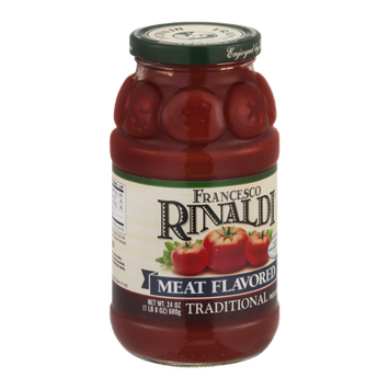 Francesco Rinaldi Meat Flavored Traditional Pasta Sauce