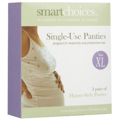 SmartChoices Single-Use Panties - Hipster X-Large: 3 Pack