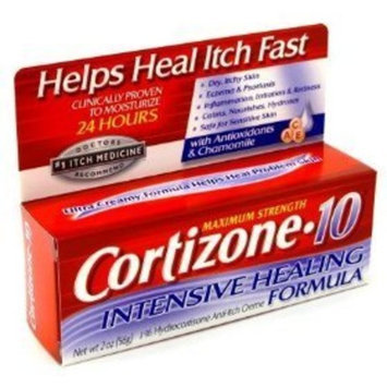 Cortizone-10 Cortizone 10 Hydrocortisone Anti-Itch Creme Intense Healing 2 oz.
