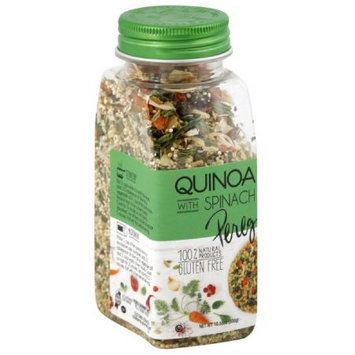 Pereg Gourmet Pereg Quinoa with Spinach, 10.58 oz, (Pack of 6)