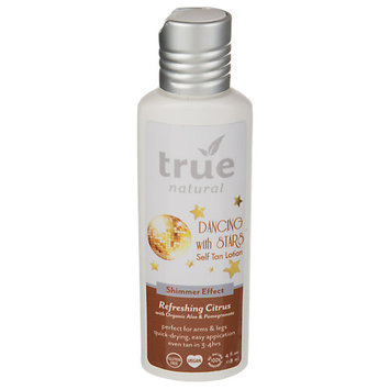 True Natural Dancing With Stars Self Tan Lotion Shimmer Effect