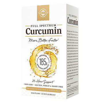 Curcumin 185x 40 mg Solgar 60 Softgel