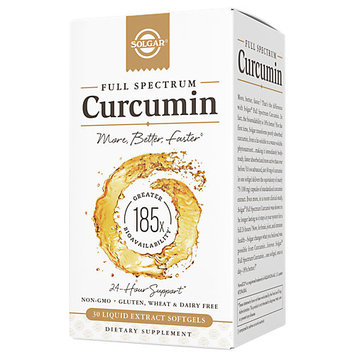 Curcumin 185x 40 mg Solgar 30 Softgel