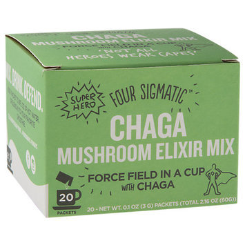 Four Sigma Foods Instant Chaga Herbal Drink Mix