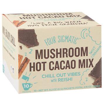 Four Sigma Foods Reishi Mushroom Hot Cacao Drink Mix