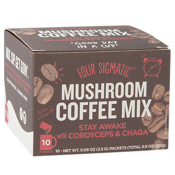 Four Sigma Foods Chaga Mushroom Coffee With Cordyceps Drink Mix